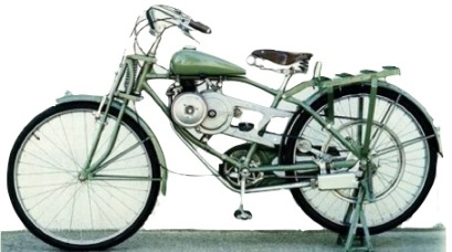 honda a1 motorized bicycle 1948
