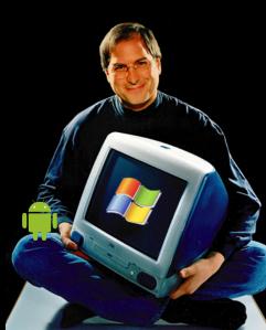 Steve Jobs platform war