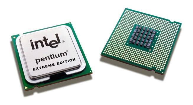 intel inside pentium chip platform