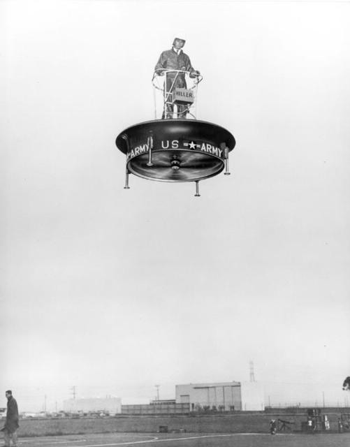 army flying platform