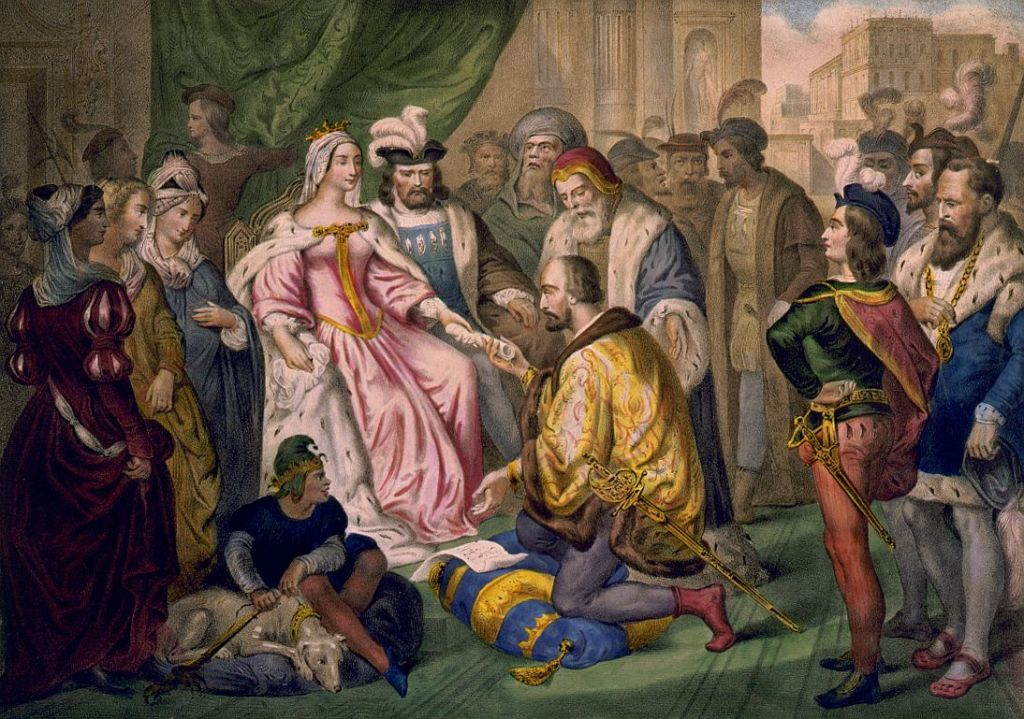 Columbus receives charter from Queen Isabella