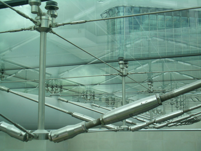 &structural glass roof
