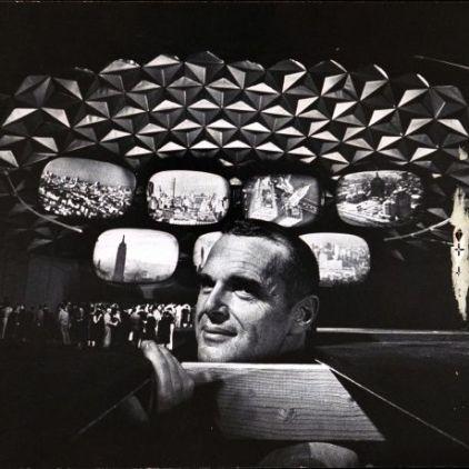 Eames' 64 World's Fair Pavillion