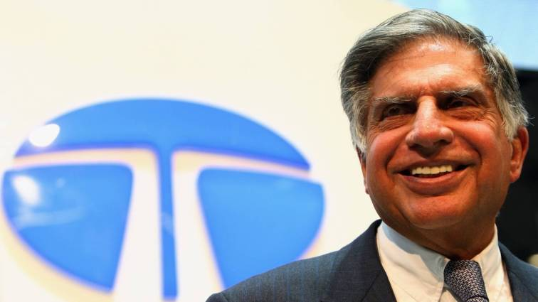 Ratan Tata, the group chairman