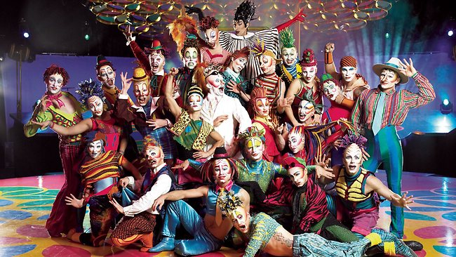 &cirque clowns