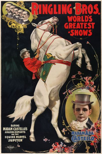 Europe's trained stallions rode into North America.
