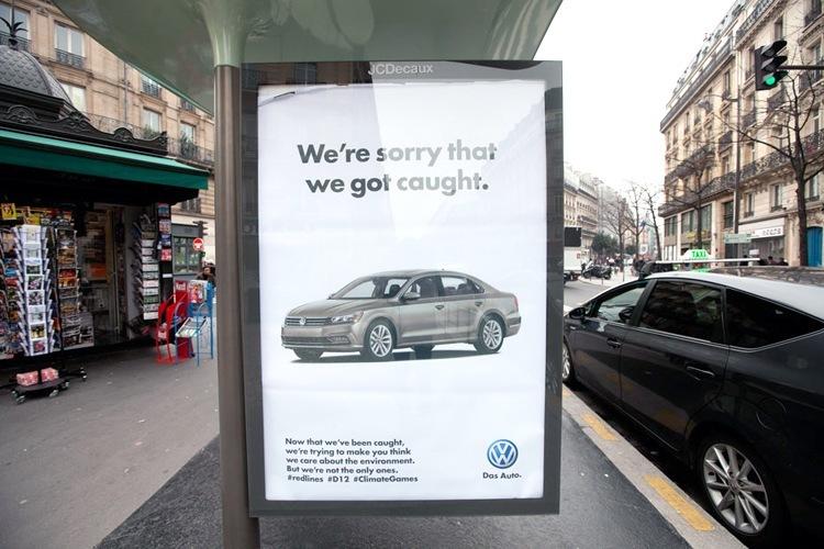 &VW emissions poster