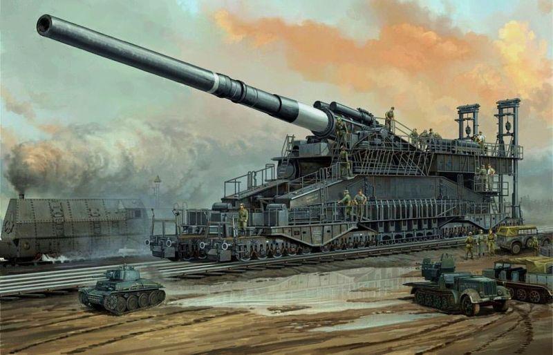 &big gun Schwerer Gustav