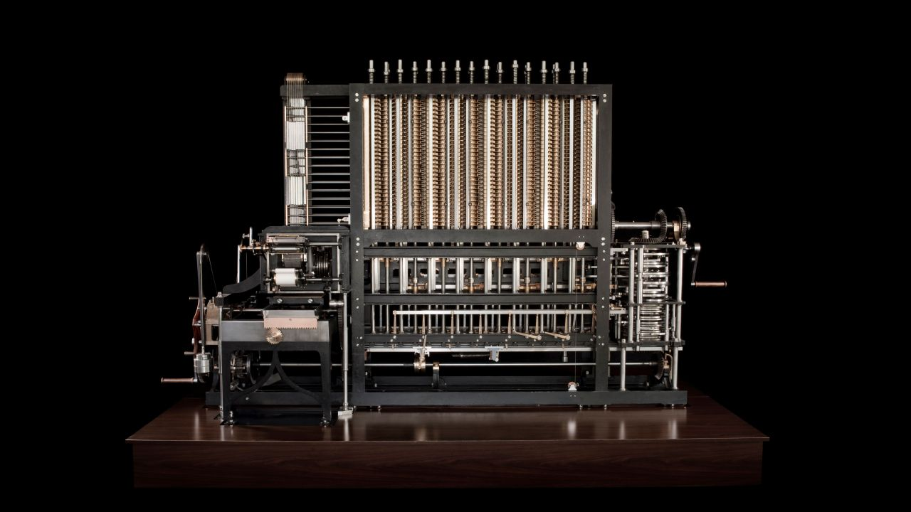 Babbage Difference Engine No. 2