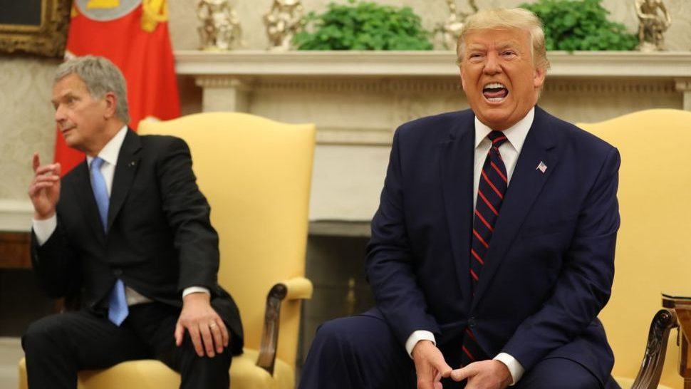 trump rants